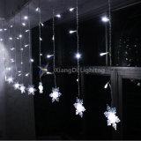 クリスマスの装飾屋内LEDのつららのカーテンライト