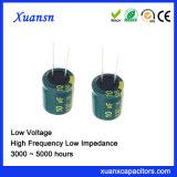 100V 10UF de Elektrolytische Lage Impedantie van de Condensator