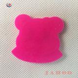 ピンクくまのカスタム品質PVCシリコーンゴムパッチ