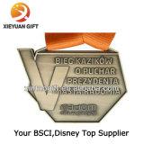 Il colore della medaglia del metallo dei prodotti della fabbrica ha riempito