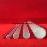Resistente a la corrosión de tubos de cristal de cuarzo traslúcido