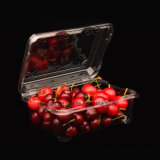 As embalagens de plástico Caixa de alimentar as uvas de embalagem frutos 500g Clamshells Blister descartáveis