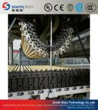 Máquina de proceso de doblez curvada cruz del vidrio del endurecimiento de Southtech (HWG)