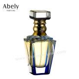 Designer de renome Perfume vaso de perfume de vidro oval para árabe