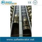 Il Ce ha certificato l'ascensore per persone panoramico commerciale
