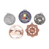 Fabrikmäßig hergestellte preiswerte Preis-Sport-Goldsilber-Bronzemedaillen-Aufhängung