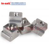 ISO299 DIN508 표준 까만 산화물 탄소 강철 T 슬롯 견과