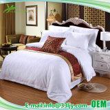 Ecoの友好的な綿繻子の中級のホテルのためのリネン寝具セット