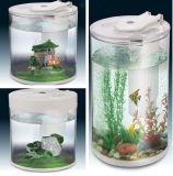 Het moderne Duidelijke Aquarium van de Tank van de Vissen van Acrylicornamental van de Cilinder