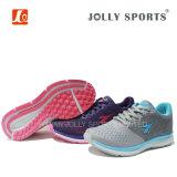 Venta caliente transpirable zapatos para correr calzado deportivo para las Mujeres Los hombres con Flyknit