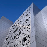 Панели фасада строительного материала металла плакирование стены напольной алюминиевое