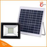 Luz de inundación solar al aire libre del jardín del LED