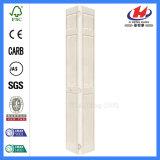 Puerta Bi-Fold de la puerta sólida de madera doble de la hoja de Tailandia