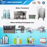 Máquina de rellenar plástica automática llena del agua de botella 2000bph