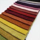 Tessuto tinto sofà decorativo dell'ammortizzatore della tessile della famiglia del poliestere della tappezzeria
