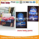 Couches personnelles de produits de couches-culottes de bébé d'étiquette d'étoile de l'élément 4