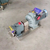 Pompe de pétrole chaud de vitesse électrique à rotor de lobe/huile de palmier/transfert de pétrole