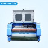 Máquina de estaca principal dobro da gravura do laser do CO2 13090 com auto sistema de alimentação