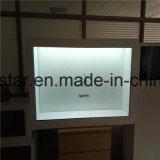 Un écran LCD transparent de WiFi androïde de garantie d'an