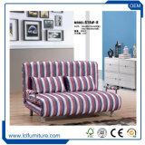 Bâti de sofa se pliant en cuir de tissu de salle de séjour d'OEM Dulex