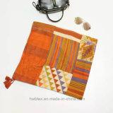 Hoher Qualtiy starker BaumwolleGeometic Colorfule Strand-Schal (Hz101)