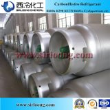 O gás Refrigerant elevado da pureza 99.9% R600A substitui um gás mais claro do butano de R134A