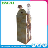 Vêtements papier plié-de-chaussée de présentoir stand stand