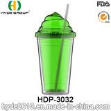 주문을 받아서 만들어진 BPA 자유롭게 두 배 벽 플라스틱 아이스크림 컵