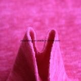 Panno morbido di effetto di stampa del catione micro, tessuto del rivestimento (hotpink)