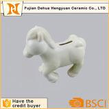 La Banca Piggy del piccolo cavallo di ceramica del cavallino