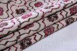 Tapicería linda de la tela del sofá del telar jacquar de 2017 flores por 360 G/M