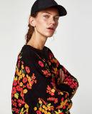 De dames vormen de Gebreide Sweater van de Wol (rs-035)