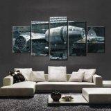 5 لوح [موفي ستر ور] ألفية باز عربة فضائيّة منزل جدار زخرفة نوع خيش صورة فنّ [هد] طبلة صورة زيتيّة على نوع خيش عمل فنّيّ