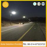 Prix bon marché de l'éclairage de rue solaire avec pôle bras Double bras unique