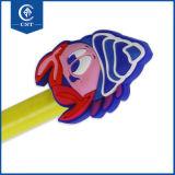 Penna di Ballpoint di plastica del fumetto di figura sveglia all'ingrosso delle stelle marine per il banco