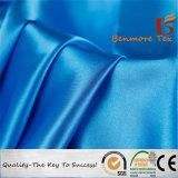 100%Polyester de glanzende Stof van het Satijn voor Kleding