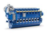 De Dieselmotor van Wartsila