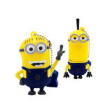 만화 Minion USB Flash Drive Customized PVC 3D Pen Drives (ET07)