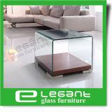 Vector de centro de cristal curvado cuadrado simple con el espejo