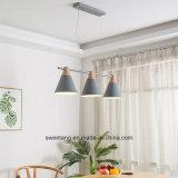 Moderne hängende Lampe mit sechs Farben für Innendekoratives