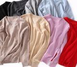 Hallo V-Stutzen des Qualitätsmädchens strickende Strickjacke-Kleidung mit langen Hülsen
