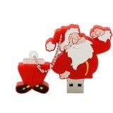 クリスマスのギフトのための最も安いサンタクロースUSB Pendrive PVC 8GB USBのフラッシュ駆動機構
