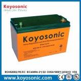 Bateria solar do AGM da alta qualidade recarregável 12V 120ah VRLA