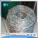 熱い販売12のゲージによって電流を通される有刺鉄線の塀