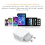3 ports USB blanc 3.1A 5V Accueil Chargeur de téléphone cellulaire
