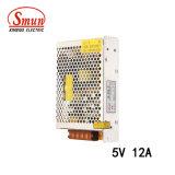 Bloc d'alimentation à sortie unique de commutation de Smun S-60-5 60W 5V 12A