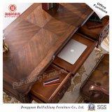 Rui Fu Xiang Luxuxantike geklopft hinunter geschnitzte hölzerne neue Büro-Möbel mit SGS-Bescheinigung (AG318/4 Drawers/1 Tastatur Fach-Eichen-Farben-festes Holz)