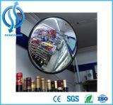 Ampla vista sob o espelho de inspecção de veículos
