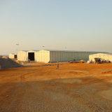 研修会の/Prefabricatedの家のためのEPSサンドイッチパネルの建築材料か容器の家