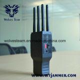 Hand6 Bänder G/M CDMA 3G und Lojack GPS Signal-Hemmer mit Nylonfall